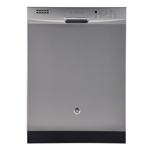 "GE 24"" Built-In Stainless Steel Tall Tub Dishwasher Stainless Steel GDF640SSFSS"
