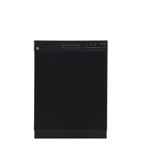 GE Built-In Stainless Steel Tall Tub Dishwasher Black GDWF400VBB