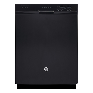 GE Built-In Stainless Steel Tall Tub Dishwasher Black GDF630SGKBB