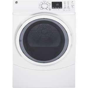 GE 7.5 Cu.Ft. Front Load Electric Dryer White GFD45ESMKWW