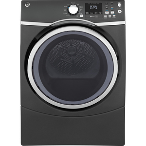 GE 7.5 Cu. Ft. Front Load Energy Star Electric Dryer with Steam Diamond Grey - GFD45ESMMDG