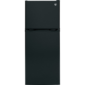 GE 11.55 cu.ft. Top Freezer Refrigerator Black GPS12FGHBB