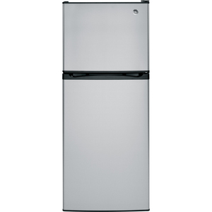 GE 11.55 cu.ft. Top Freezer Refrigerator Stainless Steel GPS12FSHSB