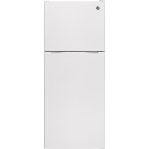 GE 11.55 cu.ft. Top Freezer Refrigerator White GPS12FGHWW