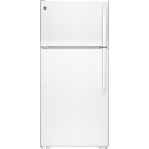 GE 14.6 cu.ft. Top Freezer Refrigerator White GTE15CTHLWW