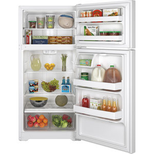 GE 14.6 cu.ft. Top Freezer Referigerator White GTE15CTHRWW