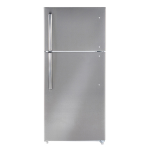 Moffat 18 cu.ft. Top Freezer Refrigerator Stainless Steel MTE18HSKRSS