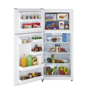 Moffat 18 cu.ft. Top Freezer Refrigerator White MTS18GTHLWW