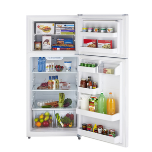 Moffat 18 cu.ft. Top Freezer Refrigerator White MTS18GTHRWW